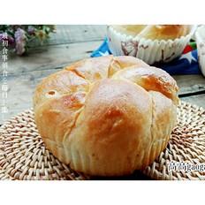 奶香松软烫种面包