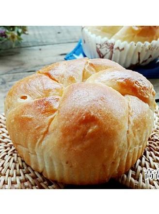 奶香松软烫种面包的做法