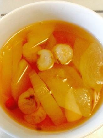 冬瓜桂圆甜汤的做法