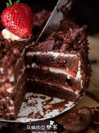 黑森林蛋糕的做法图片