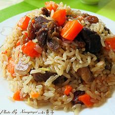 新疆特色羊肉手抓饭