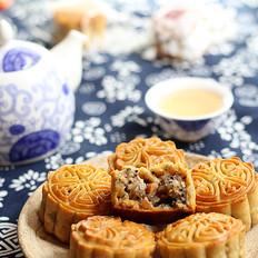 老式五仁馅月饼#长帝烘焙节#