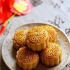 椰蓉蔓越莓馅月饼#长帝烘焙节#