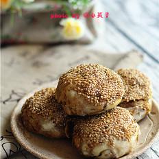 老北京麻酱烧饼