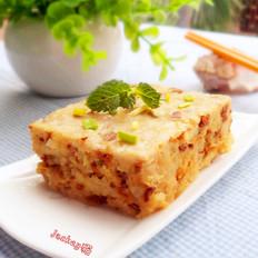 姬松茸蒸肉饼