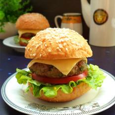 全麦牛肉汉堡的做法[图]