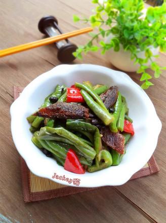 打印豆豉鲮鱼烧青茄的做法(美食杰)