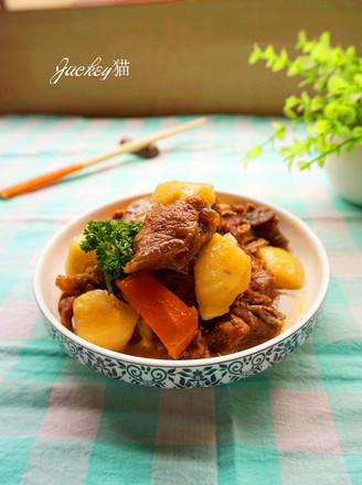羊肉焖土豆的做法