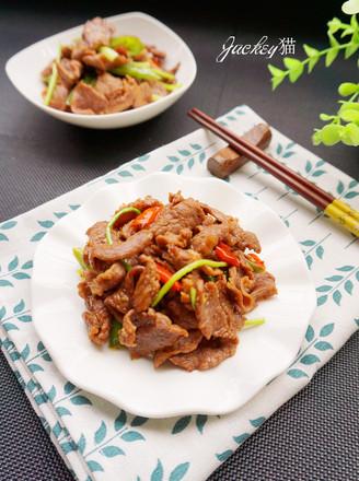 香辣炒羊肉的做法
