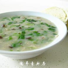 蔬菜麦片粥