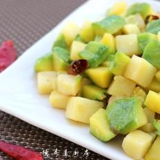 姜柄瓜焖土豆