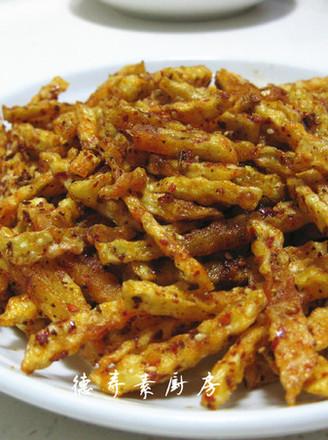 麻辣炸土豆的做法