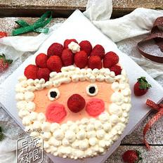 草莓圣诞老人蛋糕