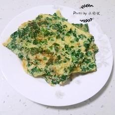韭菜鸡蛋饼