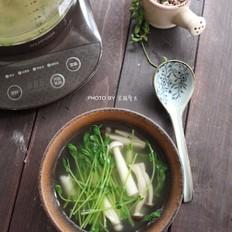 菌菇豆苗汤#苏泊尔第三季晋级赛#