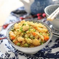 海鲜咖喱饭#美的微波炉#