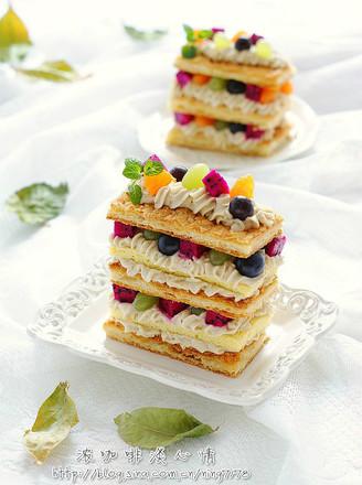 拿破仑蒙布朗蛋糕