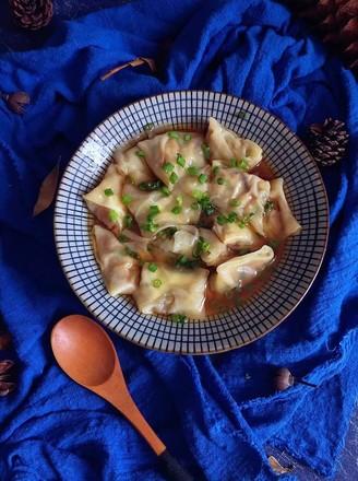 香菇鲜肉馄饨的做法