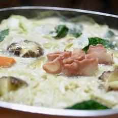 日式豆乳锅#金鸡有喜合家乐#