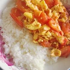 鸡蛋西红柿盖浇饭