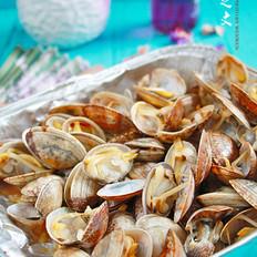 只放生抽就超好吃的烤花蛤