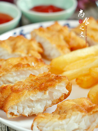 炸鱼薯条的做法