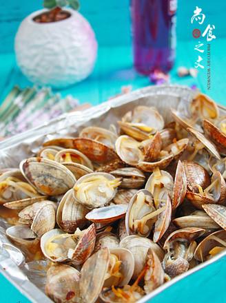 只放生抽就超好吃的烤花蛤的做法