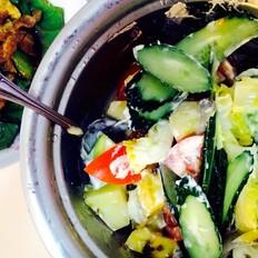 瘦身002蔬菜水果沙拉