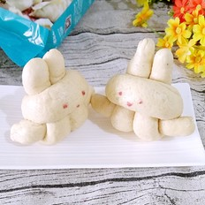 白鲨面粉#可爱的小兔子