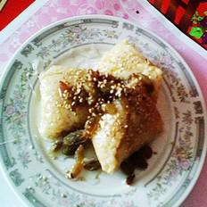 果脯芝麻粽