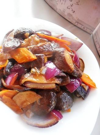 素炒香菇的做法