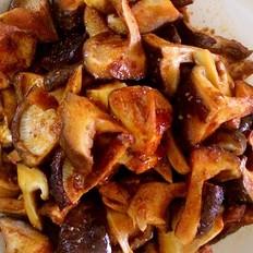 家常烤香菇