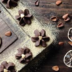 巧克力曲奇花