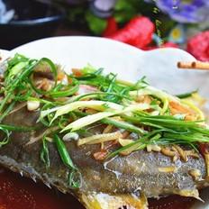 广东清蒸金鲳鱼
