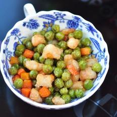 豌豆炒虾仁#苏泊尔第三季晋级赛#