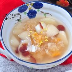 百合银耳梨汤