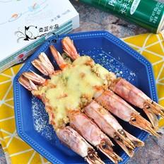 芝士蒜香红虾