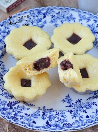 杂粮豆馅米糕的做法