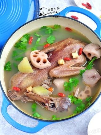 冬瓜干贝老鸭汤的做法