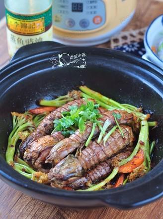 干锅皮皮虾的做法