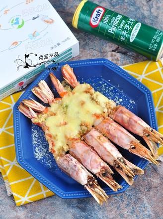 芝士蒜香红虾的做法