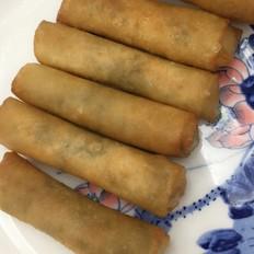 雪菜鲜肉春卷