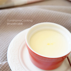 香滑鲜奶炖蛋