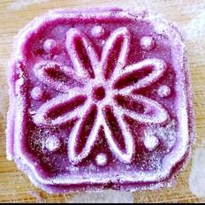 紫薯山药糕~超简易超低卡