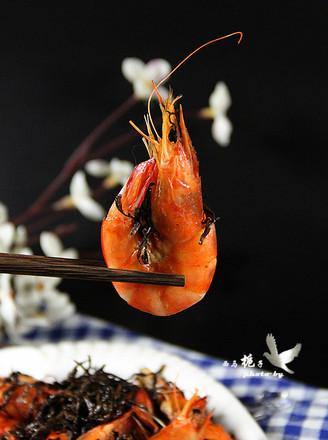 茶叶焗虾的做法