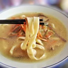 手擀三丝汤面的做法[图]
