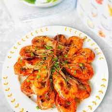 豉油王芥末大虾#美的智能冰箱#