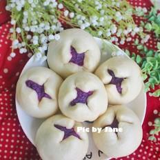 紫薯开花包
