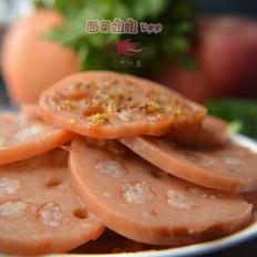 开胃江南小食桂花糖藕的做法[图]