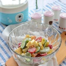 酸奶果蔬沙拉
